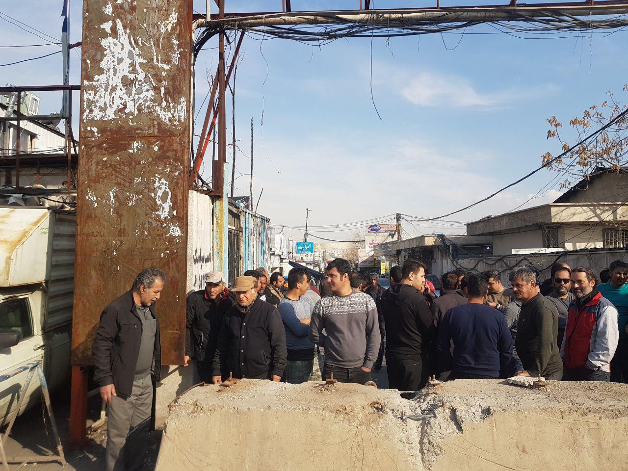 با تعطیلی بازار سنگ تهران شرق (کوهک) بیش از دو هزار شغلِ مستقیم، نابود میشود!