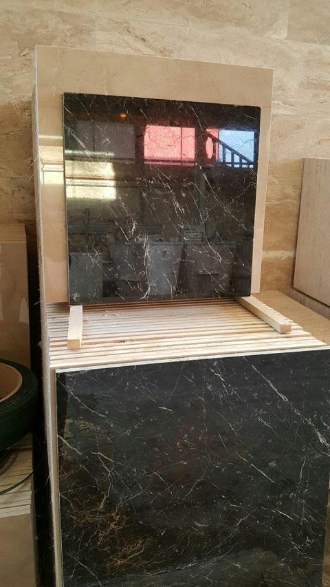فروش سنگ مرمریت گلدن بلک + قیمت و مشخصات